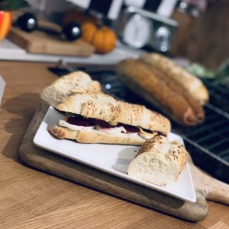 Sandwich-Rollen